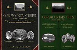 Our Mountain Trips book covers