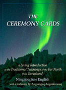 ceremony cards book cover